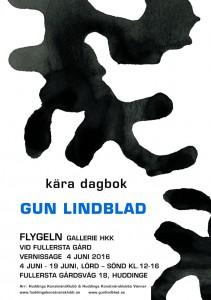 Gun Lindblad. Flygeln