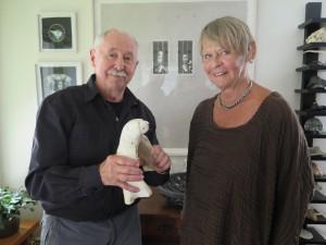 Svenerik Jakobsson och Margareta Röstin