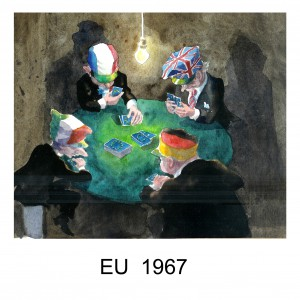 Gugge Norinder. EU bildas 1967